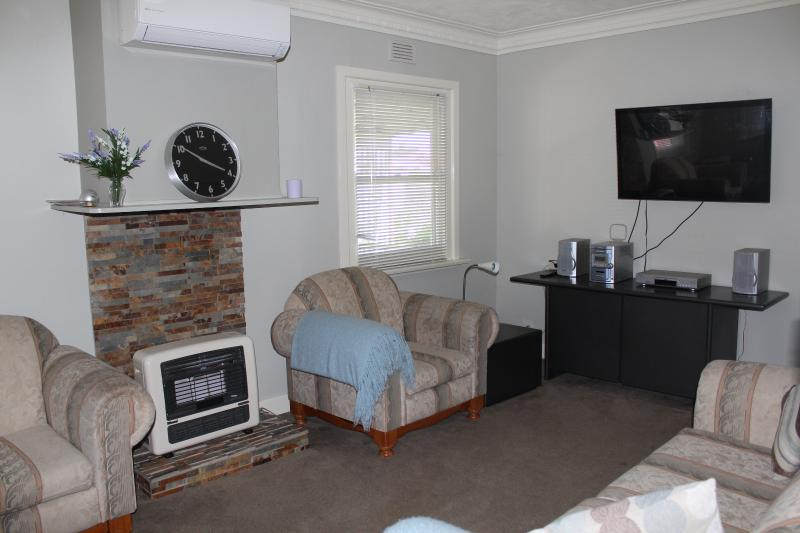 Living Room with heating/air conditioning