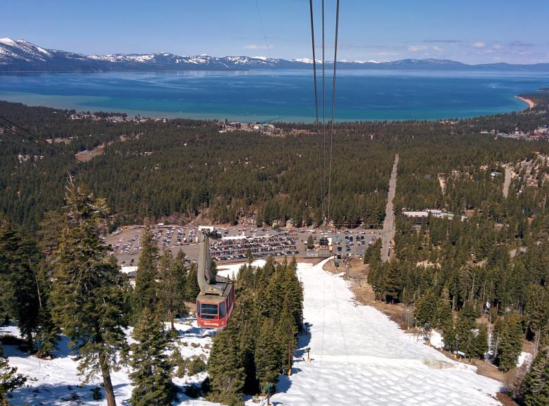 View from Heavenly Aerial Tram.