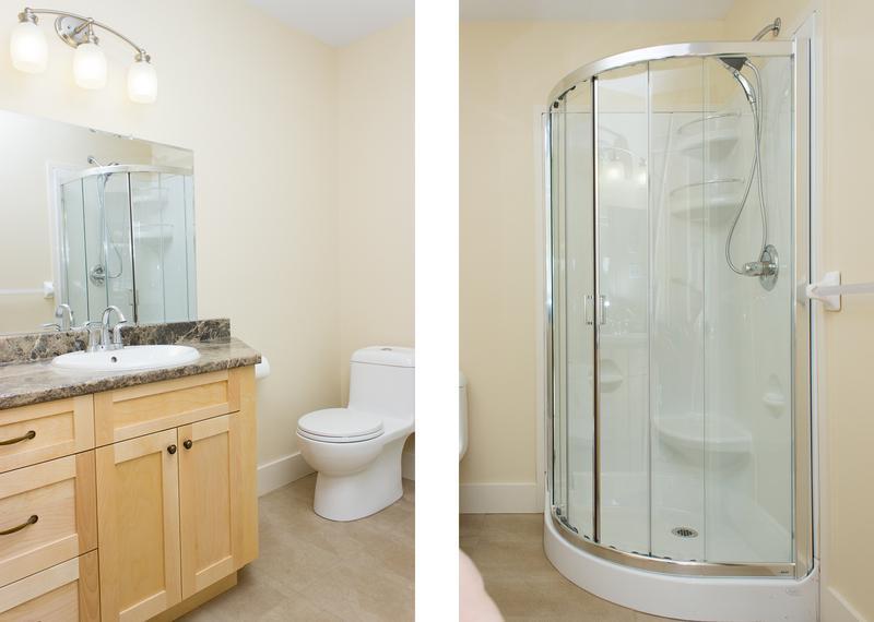 Baño principal con ducha de pie