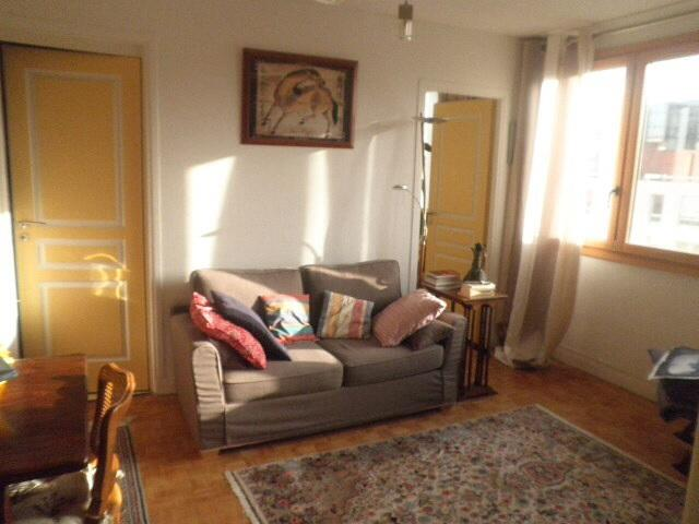 Living room, the sofa