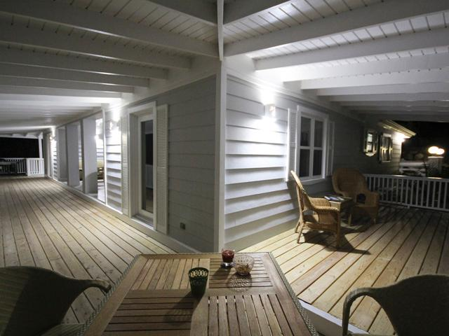 Verandah at night
