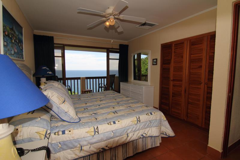 Master bedroom with Balcony.