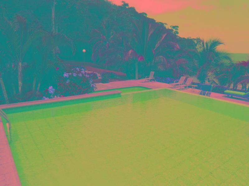 The main pool at Picantes.