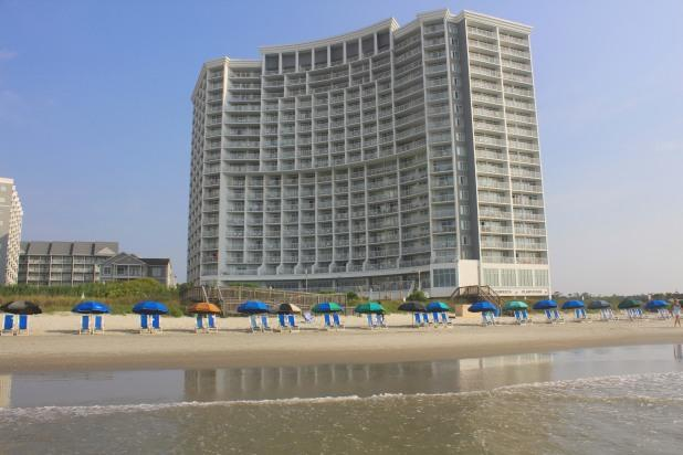The Sea Watch North Tower, one of Myrtle Beach's most popular vacation resorts!