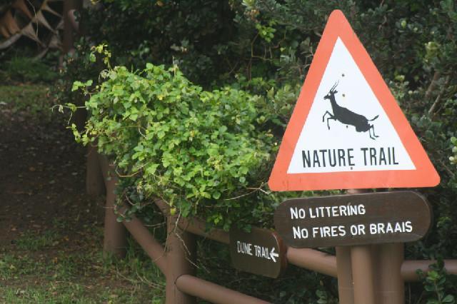Nature trail on Estate