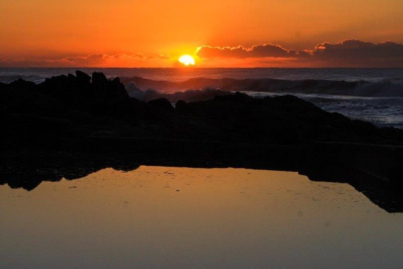 Sunrise at Marina Beach