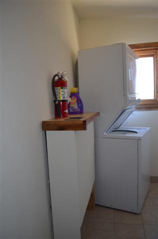 laundry/utility room, heat is radiant heat