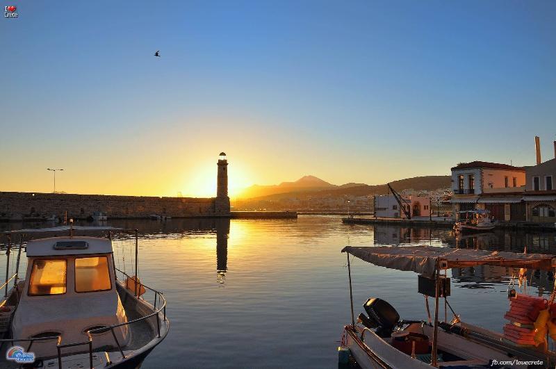 Rethymno town, old Venetian port