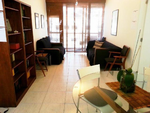 Salon / salle à manger chambre vue de la deuxième