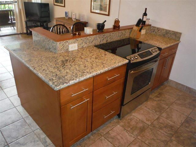 Totally renovated kitchen. All new stainless appliances & granite counters with plenty of prep space
