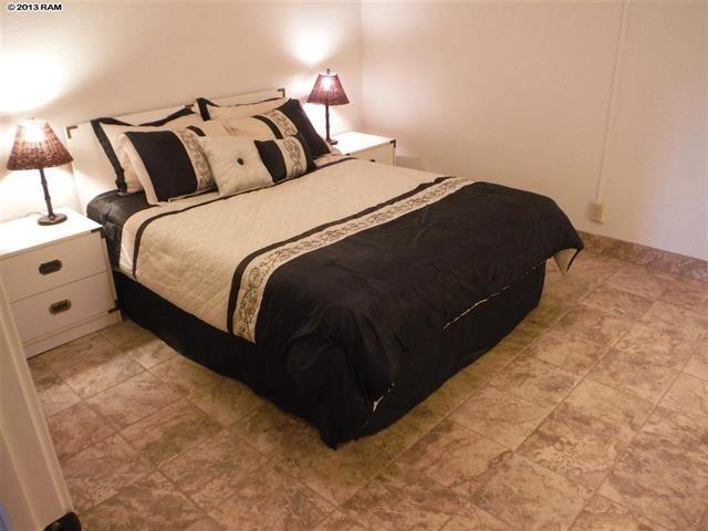 Large Master Bedroom with queen bed, plenty of storage and closet space