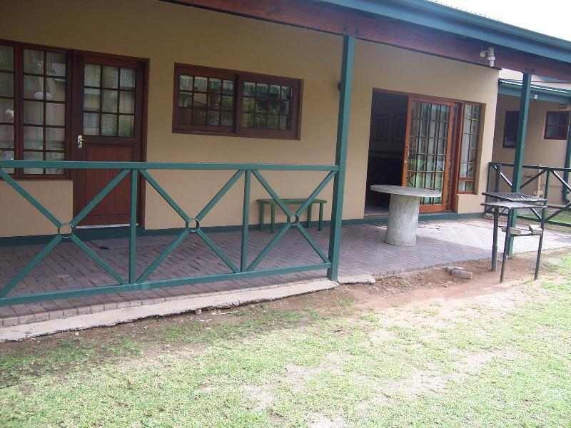 Great self catering near hot springs