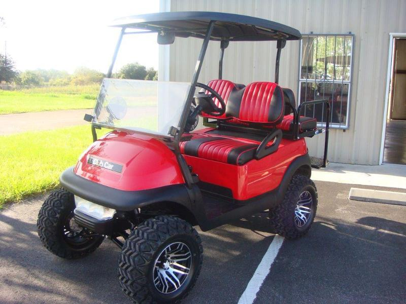 Bikes, ATVs and golf cart are available for rent in town.