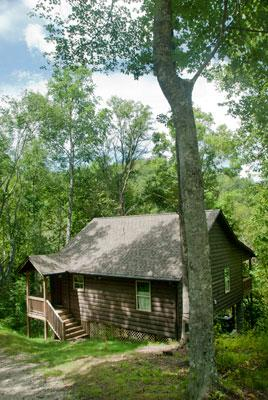 Secluded on 40 Acres of Mountain Wilderness, perfect for a Weekend Getaway or a Family Vacation.