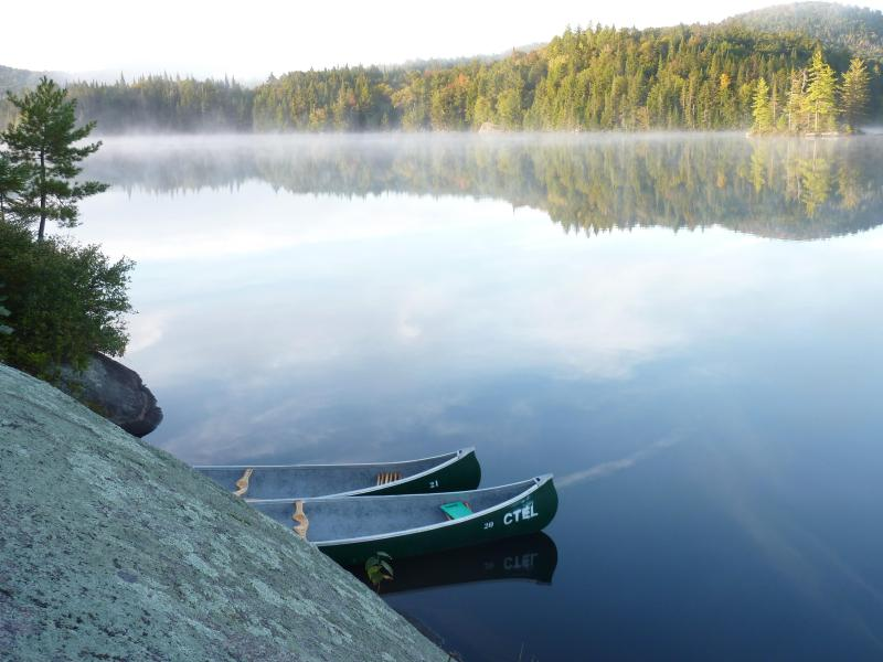 Canoeing, hiking, swimming, fishing, snowshoeing