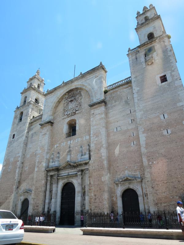 Cathedral in Merida