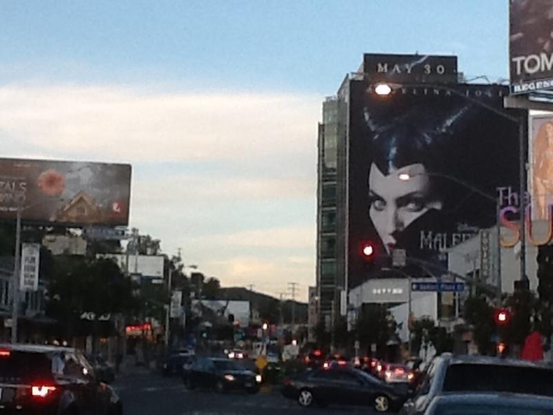 Sunset Strip just around the block and minutes away