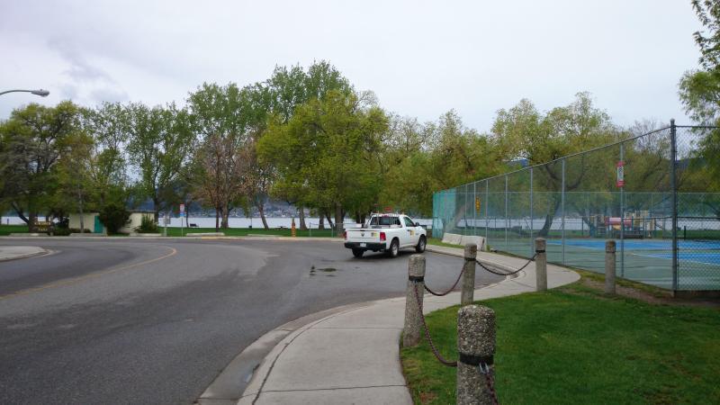 Parco e spiaggia proprio dietro l'angolo