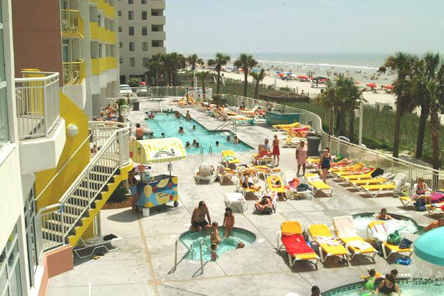 Awesome Oceanfront 1Bedroom Condo Sleeps 8., location de vacances à North Myrtle Beach