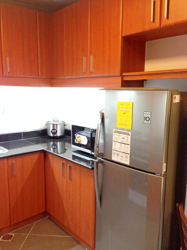 With refrigerator, microwave, rice cooker, boiling pot