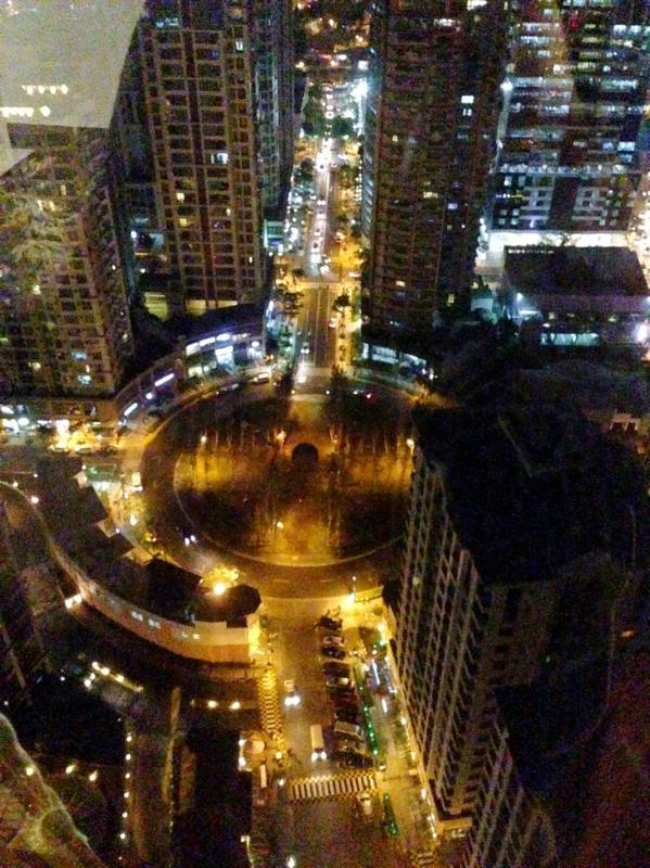 Vue de Burgos Cercle nuit
