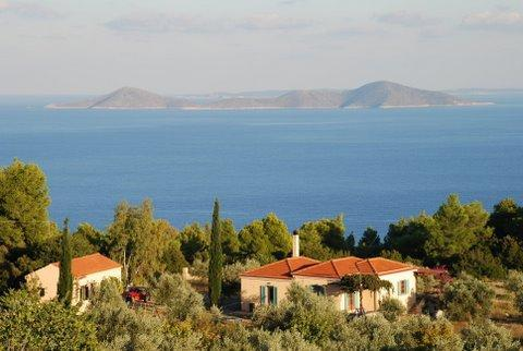 Villa Maria – Greek nature and view over the sea, vacation rental in Alonnisos