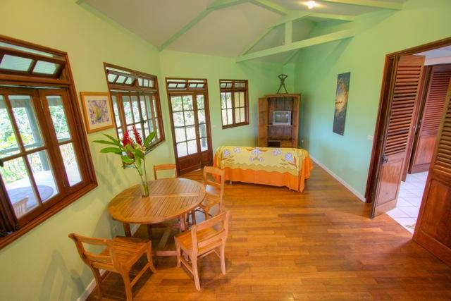 Green Room Villa, Teahupoo, Tahiti, holiday rental in Tahiti