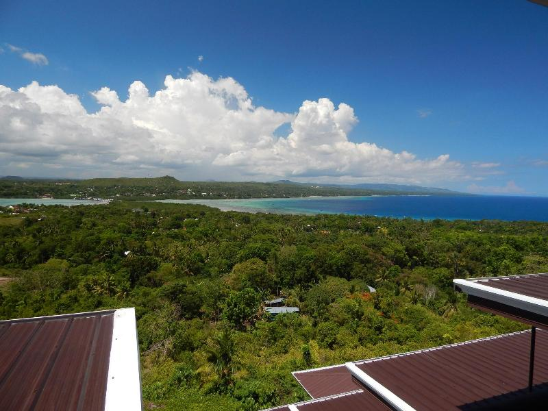 The view from Hotel Bohol Vantage Resort