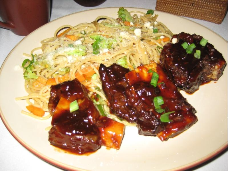 Hawaiian ribs at our restaurant.