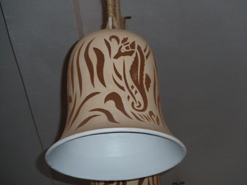 custom made seahorse lighting