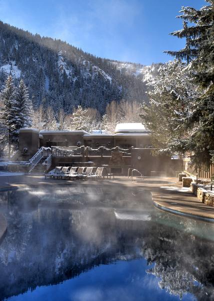 Outdoor Hot Tub at the Gant
