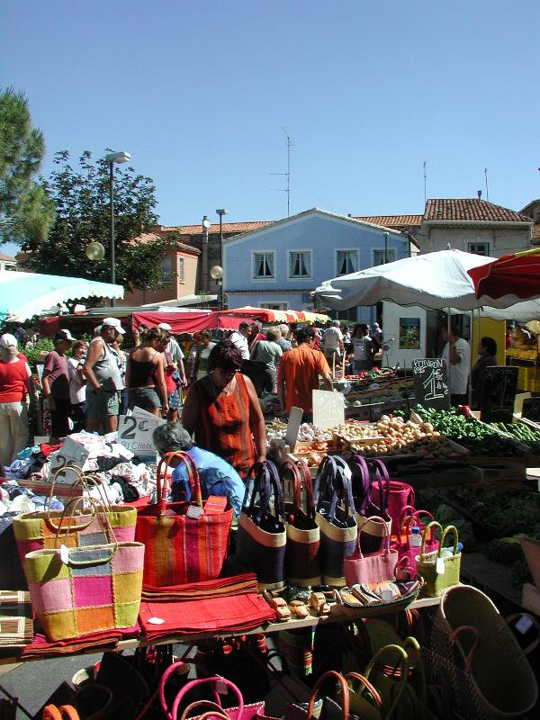 Our lively market - twice a week from April through September