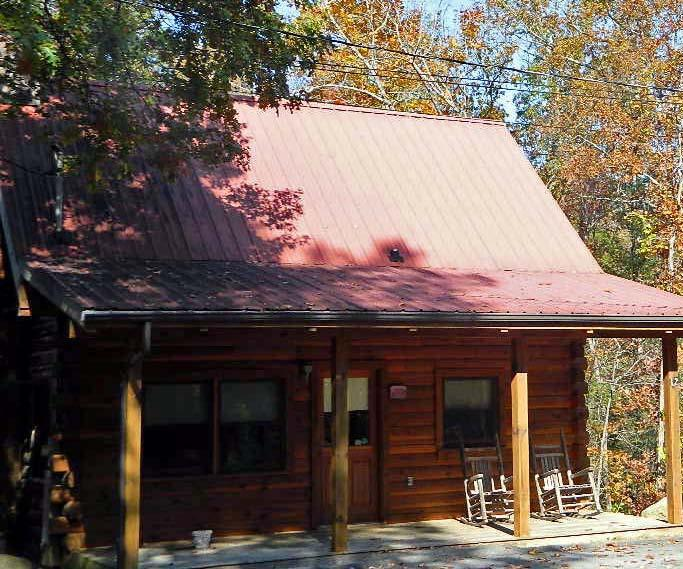 Brentley Honeymoon Cabin are tucked in the mountains only a ten minute drive from Main St Gatlinburg