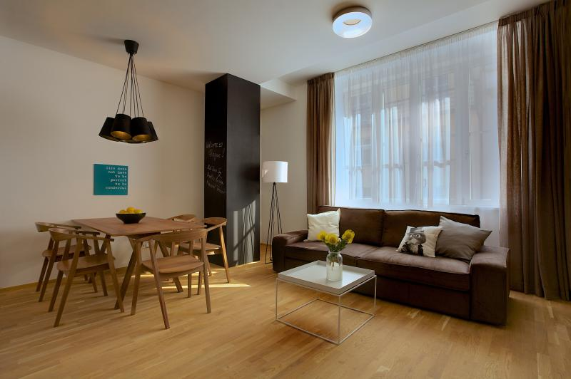 Two-Bedroom Design Apartment
