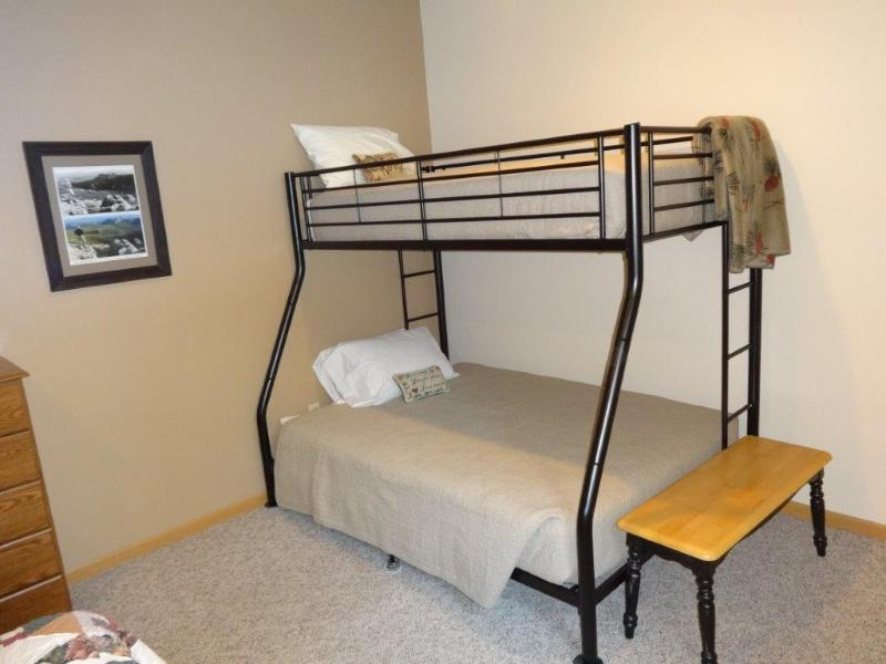 Bedroom - Twin over Full bunk bed