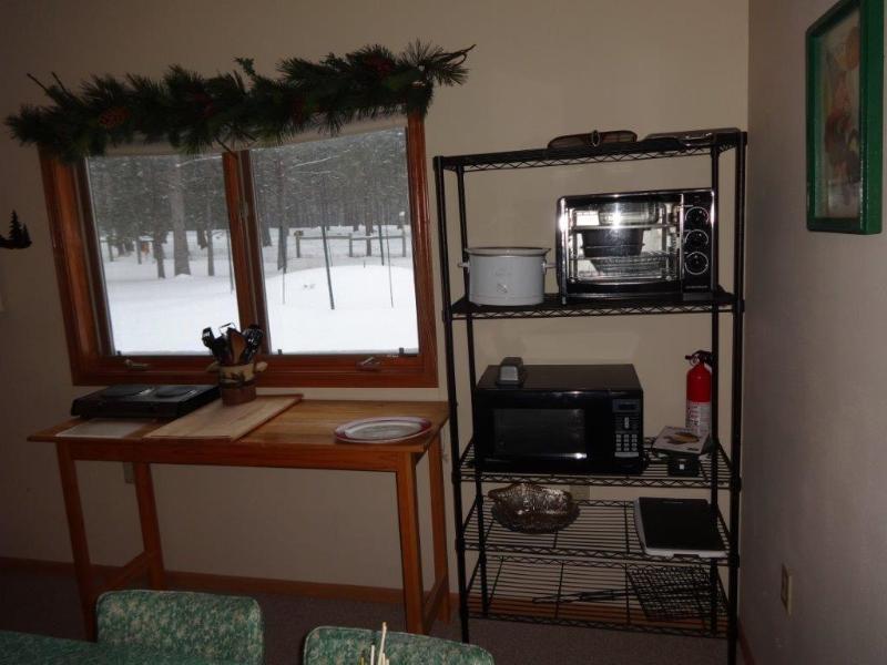 Kitchen - Microwave + Toaster Oven