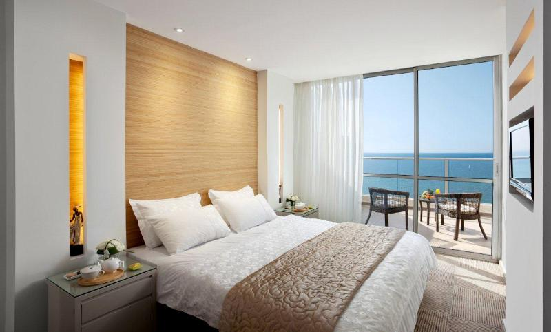 Your bedroom with sea view