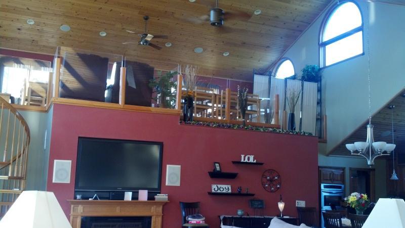 Maximaal grote loft met Pool Table/Table Tennis