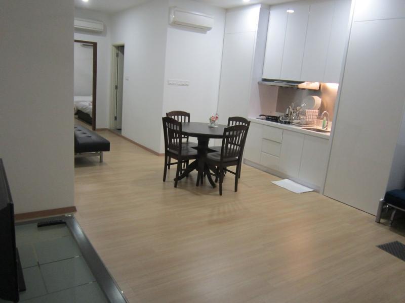 32' LED-TV im Wohnzimmer