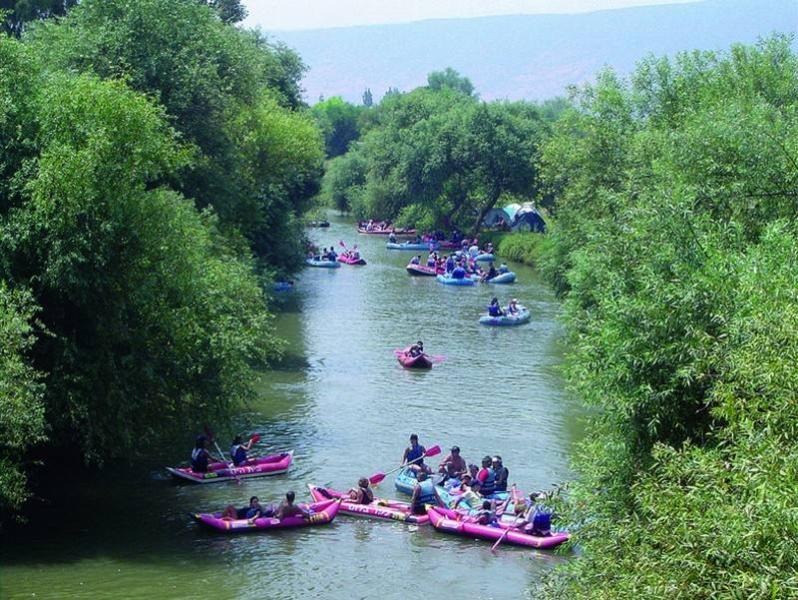 Kayaks in Hagoshrim