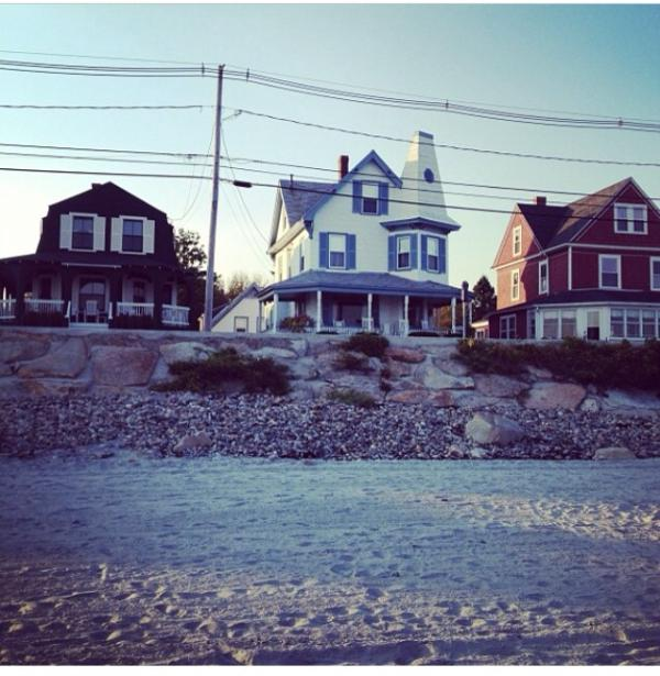 Front of home from Long Sands Beach