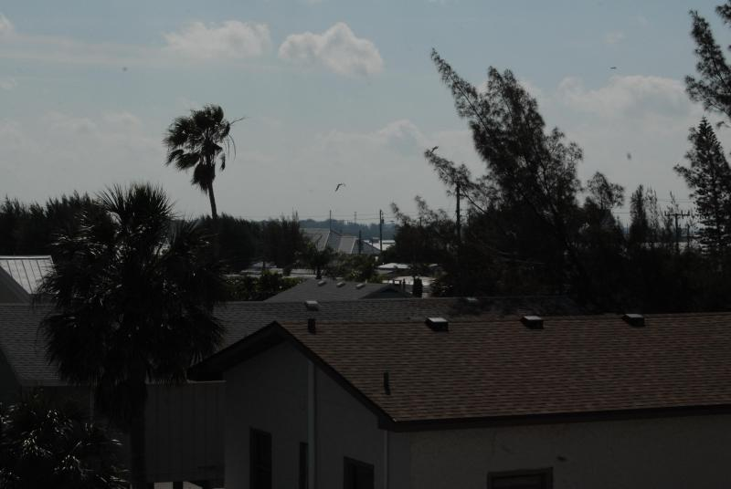A Peek of Sarasota Bay From the Back of the Deck