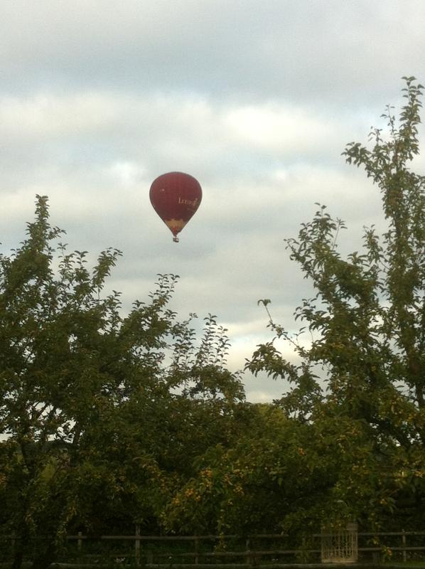 Leeds castle ballon