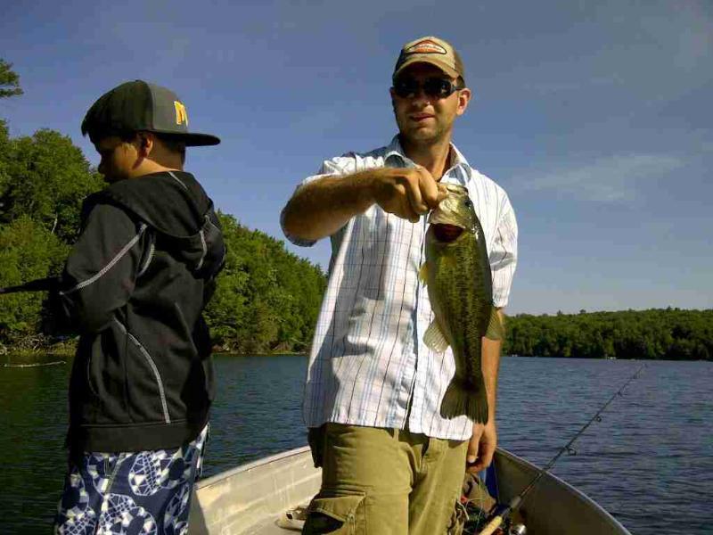 Clyffe House: Pesca do robalo Lake Mary