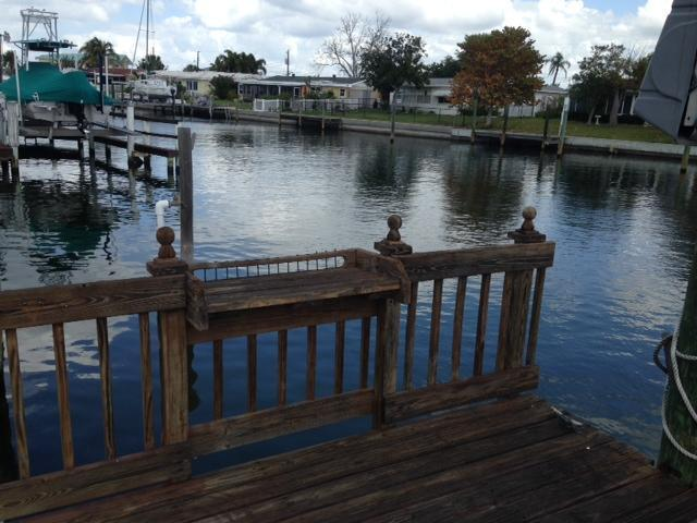 Lovely one story home on the water, vacation rental in Palmetto