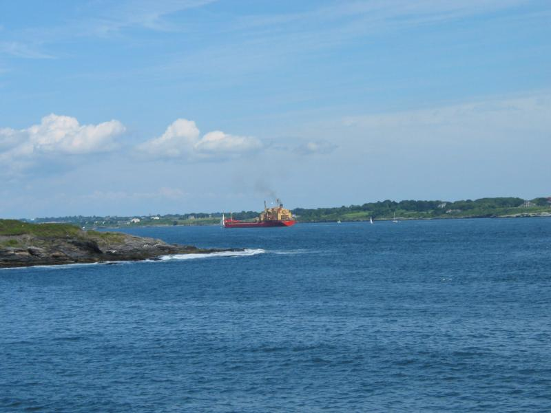 Hull Cove, Short Point, East Passage, Aquidneck Island