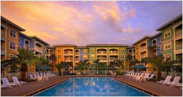 Mizner Place at Weston Town Center: 1-BR, Type A, Sleeps 4, Full Kitchen, holiday rental in Green Meadow
