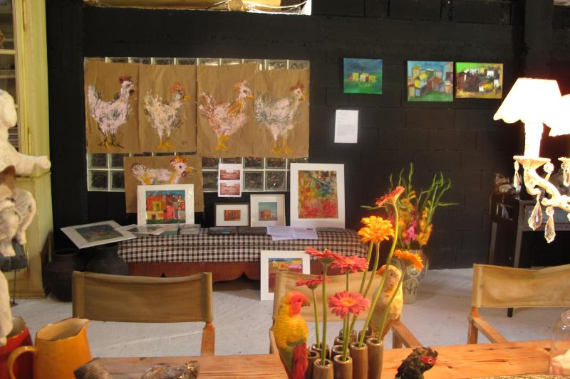 Art Exhibition in the 'Villa-Lounge'