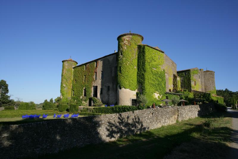 Château de Villarlong - View from the Parkside