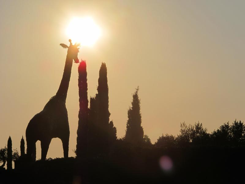 Landmark: The Villarlong Giraffe